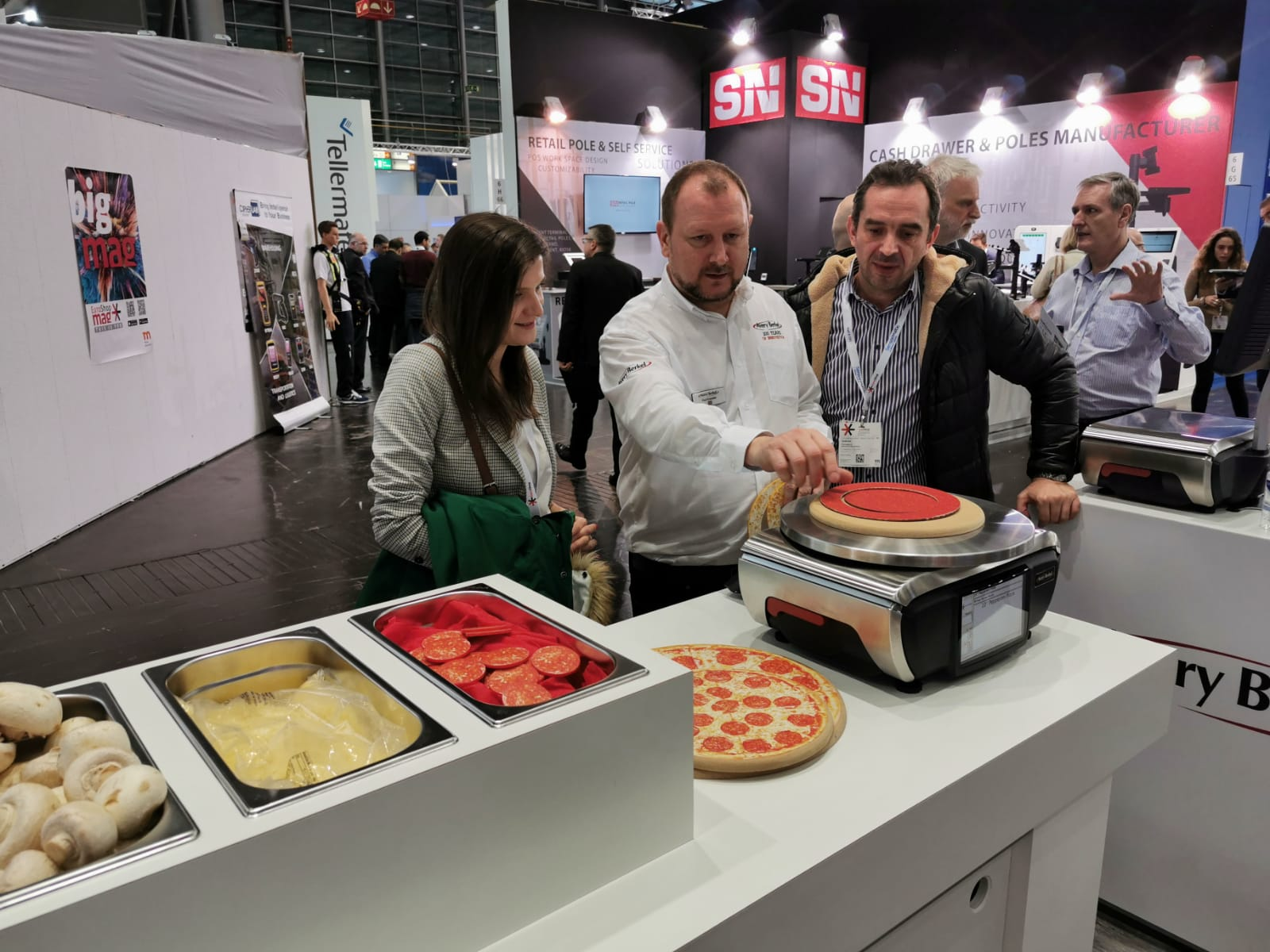 Avery Berkel Intelligent Scales - XTi100 - EuroShop 2020
