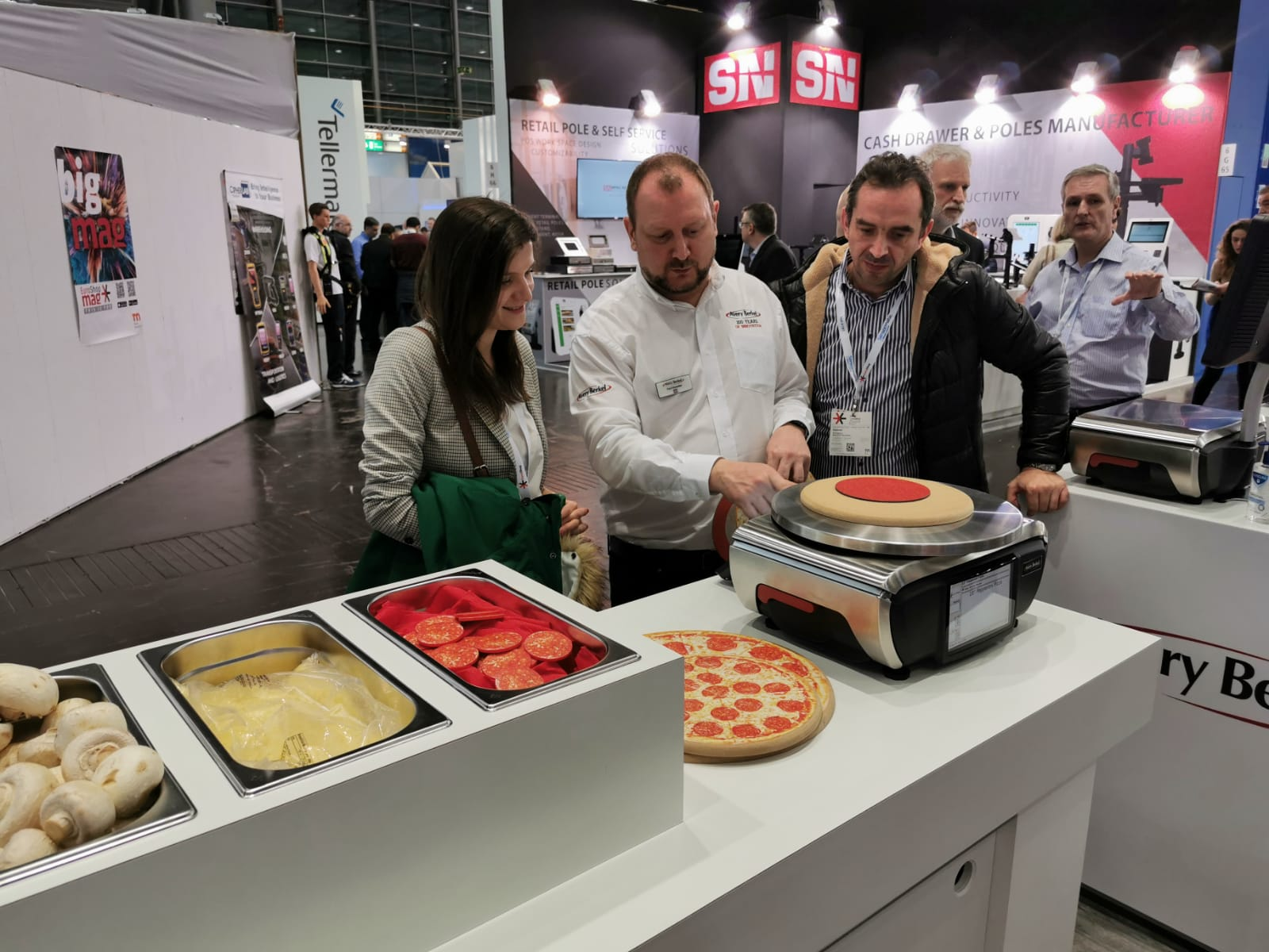 Avery Berkel Intelligent Scales - EuroShop 2020
