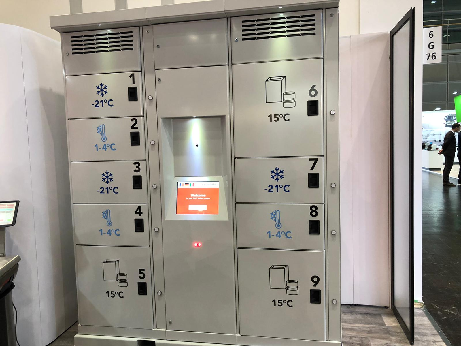 Avery Berkel Smart Lockers - EuroShop 2020